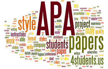This image shows the title page for an APA sixth edition paper